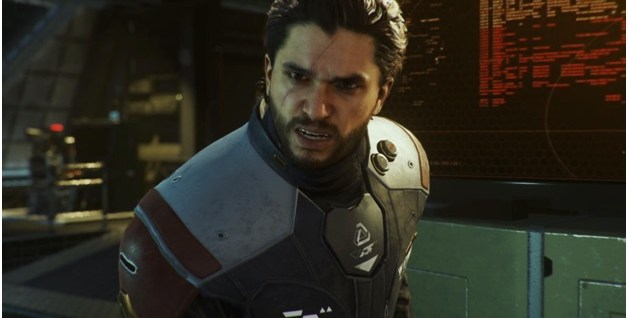 Kit Harington plays as Admiral Salen Kotch