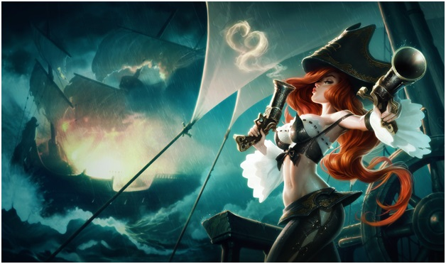 Miss fortune of league of legends