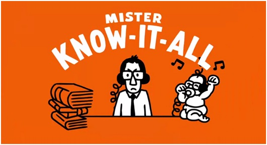 Mr know it all