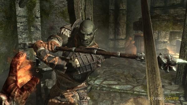 Combat in Skyrim