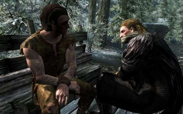 Skyrim start cart ride with Ulfric.