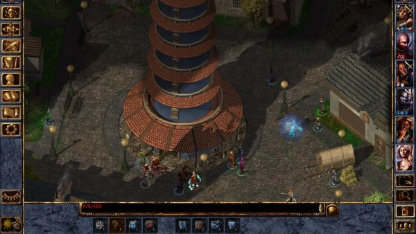 Baldur's Gate II gameplay