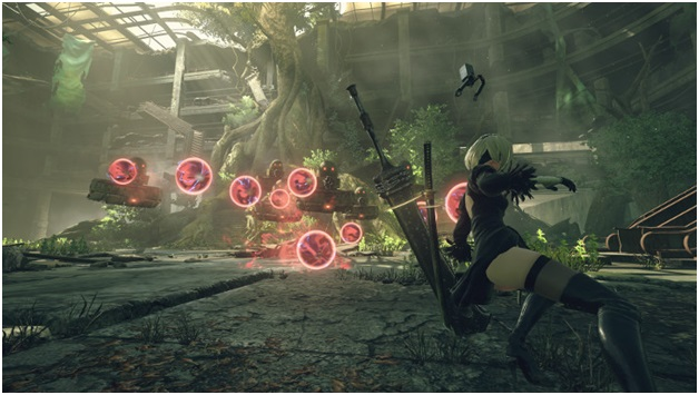 It features a Combat System Developed by Platinum Games