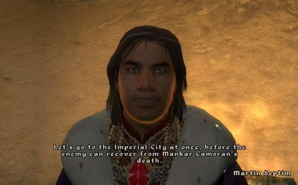 Martin Septim in the Elder Scrolls IV