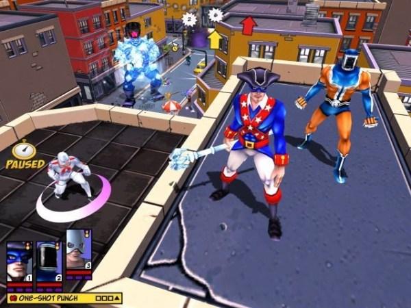 Freedom Force gameplay screenshot