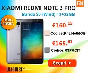 Redmi Note 3 Pro 32GB Internazionale con bande sbloccaate