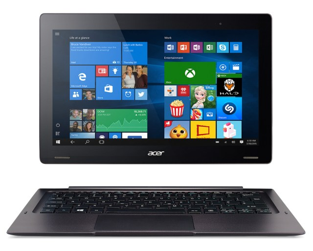 Acer Switch 12 S SW7-272 Win10 straight forward disconnected