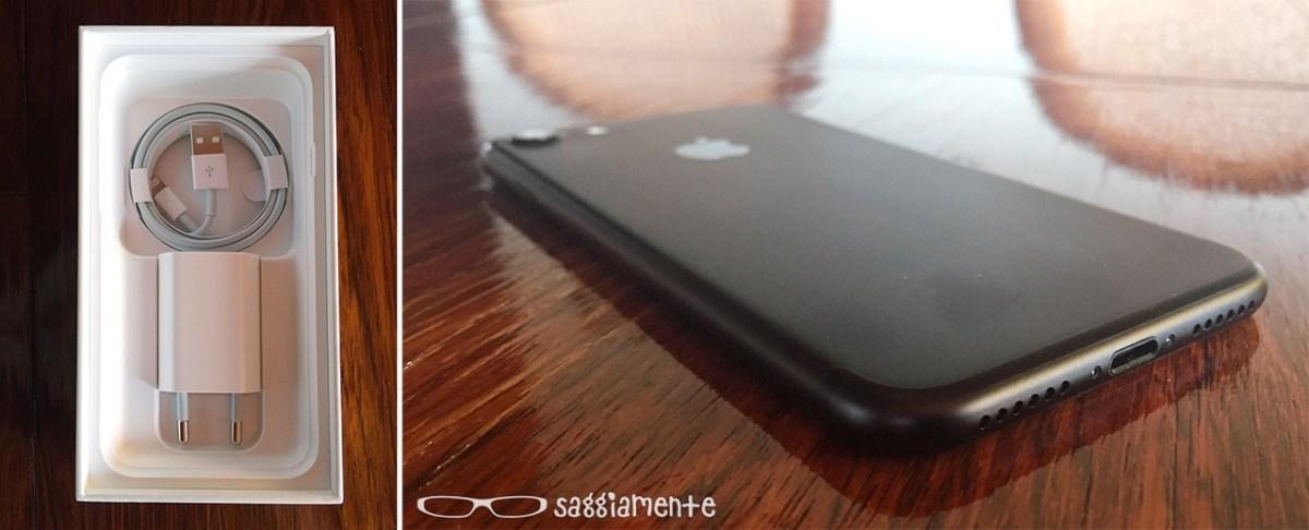 SaggioUnboxing e prime impressioni su iPhone 7 nero opaco
