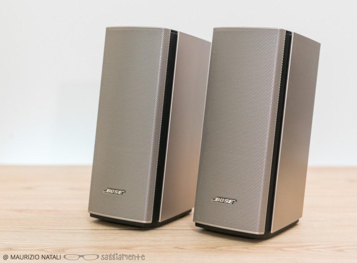 Recensione: Bose Companion 20, diffusori multimediali per computer
