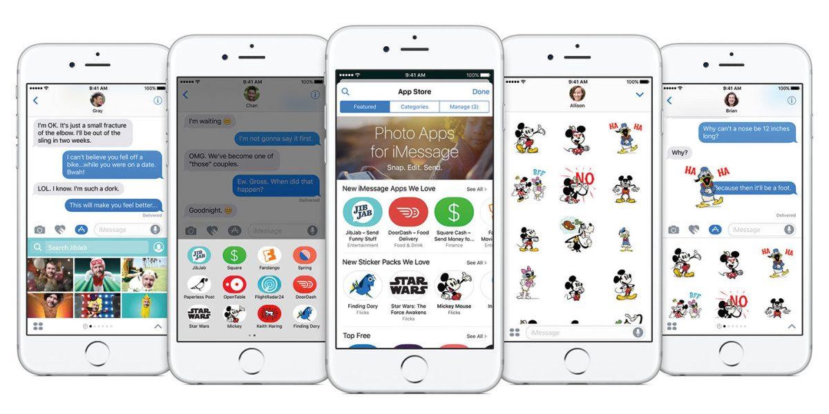 Con iOS 10 arriva l'iMessage App Store, ecco come funziona