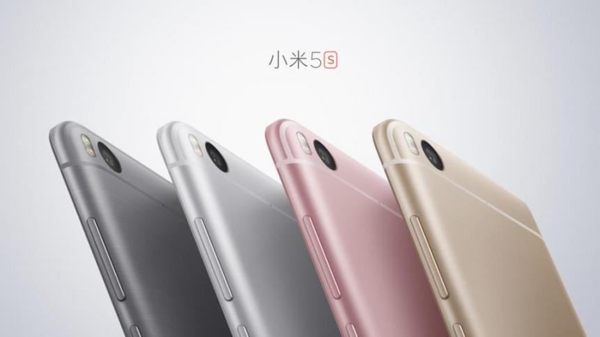 Xiaomi presenta il Mi 5s e il Mi 5s Plus con doppia fotocamera
