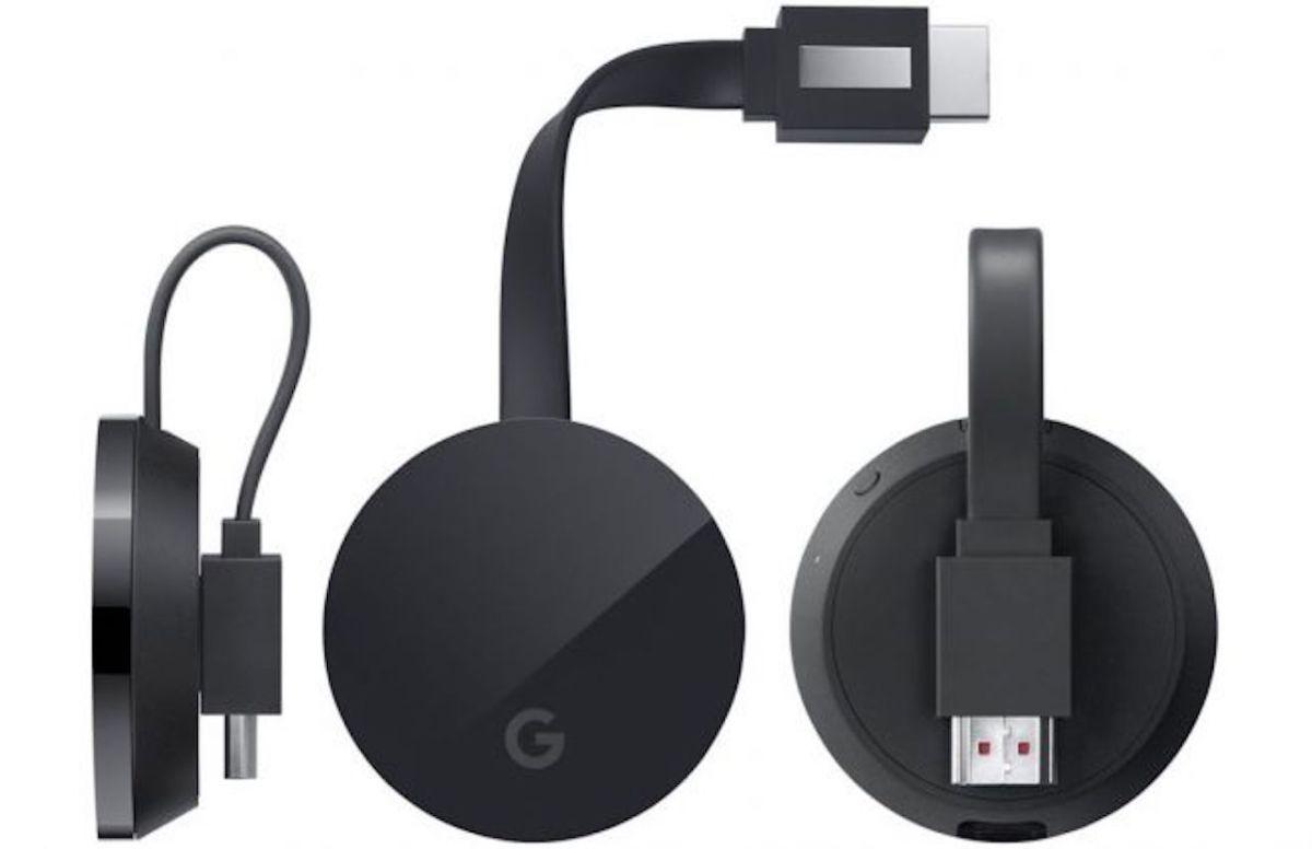 Chromecast Ultra supporta 4K, HDR ed ha una porta Ethernet