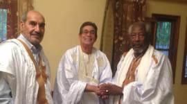 لقاء وفدين صحراوي وموريتاني