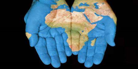 Africa-hands
