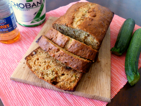 Sahar's Blog 2016 05 15 Recipe Recommendation Valentina Honey Greek Yogurt Zucchini Bread
