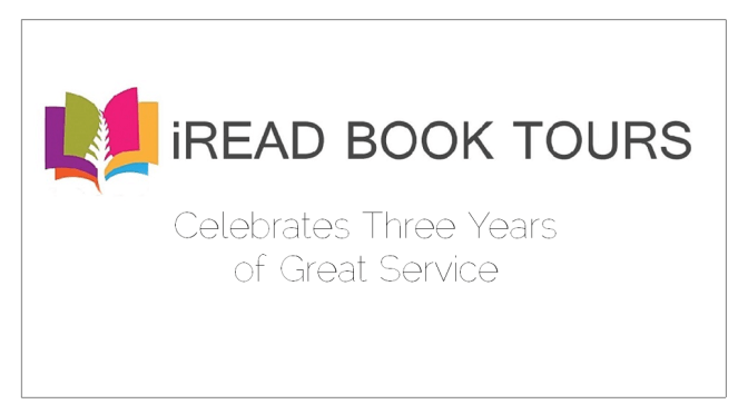 iRead Book Tours: A Happy Third Anniversary! { Includes Giveaway! }