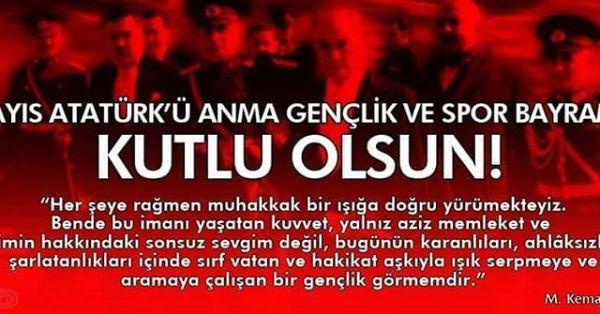 BİR DAHA ÇIK GEL SAMSUN'DAN SARI SAÇLIM MAVİ GÖZLÜM !Ey Türk Gençliği!Birinci vazifen, Türk istiklâlini, Türk Cumhuriyeti'ni, ilelebet muhafaza ve müdafaa etmektir.Mevcudiyetinin ve istikbalinin yegâne temeli budur. Bu temel senin en kıymetli hazinendir. İstikbalde dahi seni bu hazineden mahrum etmek isteyecek, dahili ve harici bedhahların olacaktır. Bir gün, istiklâl ve cumhuriyeti müdafaa mecburiyetine düşersen, vazifeye atılmak için, içinde bulunacağın vaziyetin imkân ve şeraitini düşünmeyeceksin! Bu imkân ve şerait, çok namüsait bir mahiyette tezahür edebilir. İstiklâl ve cumhuriyetine kasdedecek düşmanlar, bütün dünyada emsali görülmemiş bir galibiyetin mümessili olabilirler. Cebren ve hile ile aziz vatanın kaleleri zaptedilmiş, bütün tersanelerine girilmiş, bütün orduları dağıtılmış ve memleketin her köşesi bilfiil işgal edilmiş olabilir. Bütün bu şeraitten daha elim ve daha vahim olmak üzere, memleketin dahilinde, iktidara sahip olanlar gaflet ve dalâlet ve hatta hıyanet içinde bulunabilirler. Hatta bu iktidar sahipleri şahsi menfaatlerini, müstevlilerin siyasi emelleriyle tevhit edebilirler. Millet, fakr-ü zaruret içinde harap ve bitap düşmüş olabilir.Ey Türk istikbalinin evladı! İşte, bu ahval ve şerait içinde dahi vazifen, Türk İstiklâl ve Cumhuriyeti'ni kurtarmaktır! Muhtaç olduğun kudret, damarlarındaki asil kanda mevcuttur!MUSTAFA KEMAL ATATÜRK#19mayıs #19mayıs1919 #MustafaKemalAtatürk #Atatürk'ü Anma #sporbayrami #Gençlik@ataturk.__ @26eses1976 @atam.turkiye @yucekomutan @ataturk.__ @mustafa_kemalin_askerleriyiz26