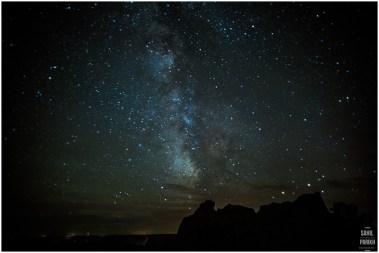 Sahil Parikh Photography - Badlands National Park - Stars at Night 1