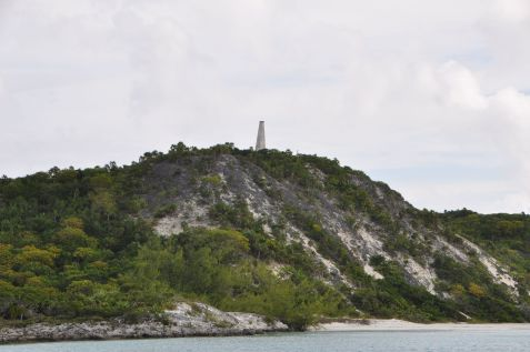 Monument at Georgetown, Bahamas