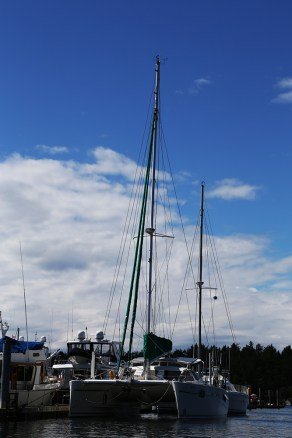 Tied up at Roche Harbor