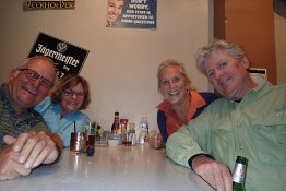 Dinner with Celia & Art at Lobster Trap