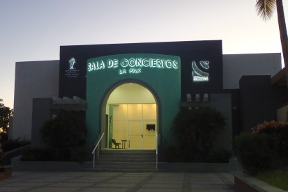 Concert Hall at the School of Music