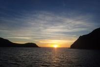 Sundown at Caleta Partida