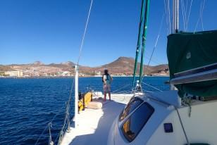 Entering the La Paz Channel