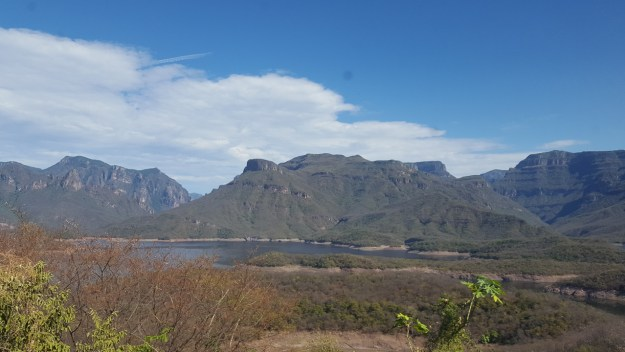 Copper Canyon, view from El Chepe