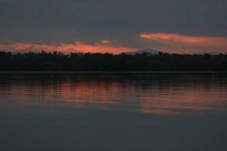 Sunrise in Barra lagoon