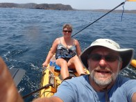 Taking the kayak for a sail