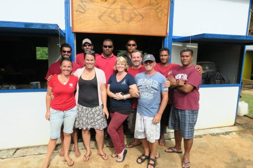 Us with The Boatyard Vava'u Crew