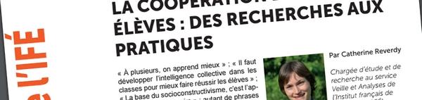 La coopération entre élèves : des recherches aux pratiques (Dossier IFE)