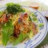 生の白菜うまい!!(サンマと白菜のカルパッチョ)