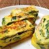 定番+貴重な山菜(行者ニンニク入り卵焼き)