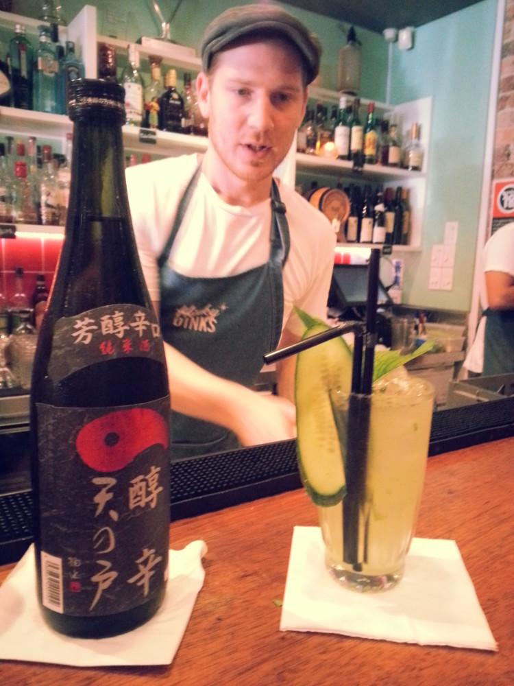 Amanato Junkara Junmai Cocktail