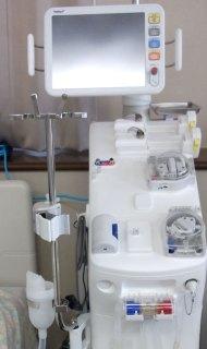 オンラインHDF対応透析装置
