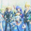 Medaka Box's main characters, as well as other supporting characters.