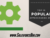 Top 10 Most Popular AppExchange Apps