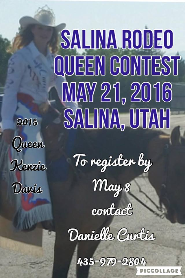 Salina Utah Rodeo Queen Contest May 21st 2016