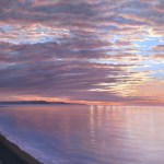New Day Dawning oil 59 x 75cms
