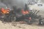انفجار عنيف يهز محيط نقطة امنية جنوب مدينة لودر بأبين  ..