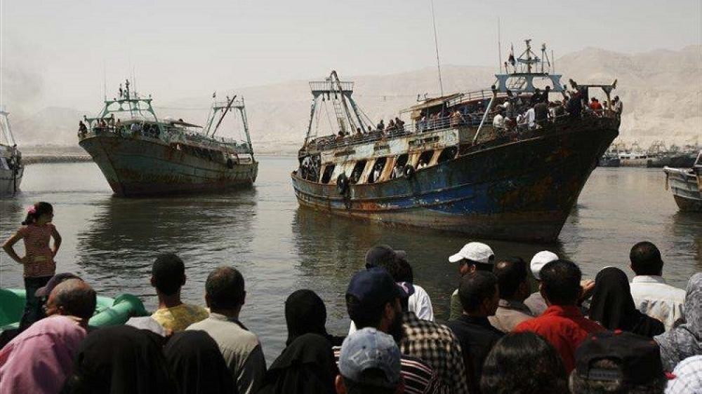 الإفراج عن 72صياداً مصرياً تم حجزهم في سواحل المهرة