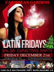 Latin Fridays Xmas