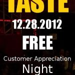 Taste Fridays Free
