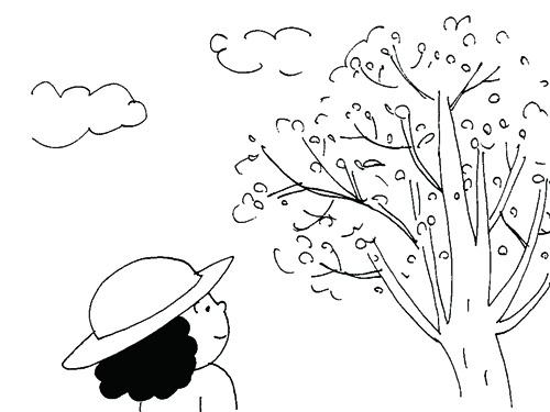 サクランホ?の木