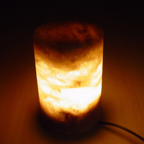 Salt Lamps For Feet : White Salt Candle Holders Collection Cube Cylinder and Natural (Sold Pack of 3) Saltlamps-R-Us
