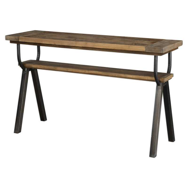 Large Of Industrial Console Table