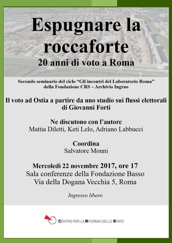 Espugnare la roccaforte: 20 anni di voto a Roma