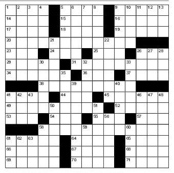 A NY Times crossword hint!